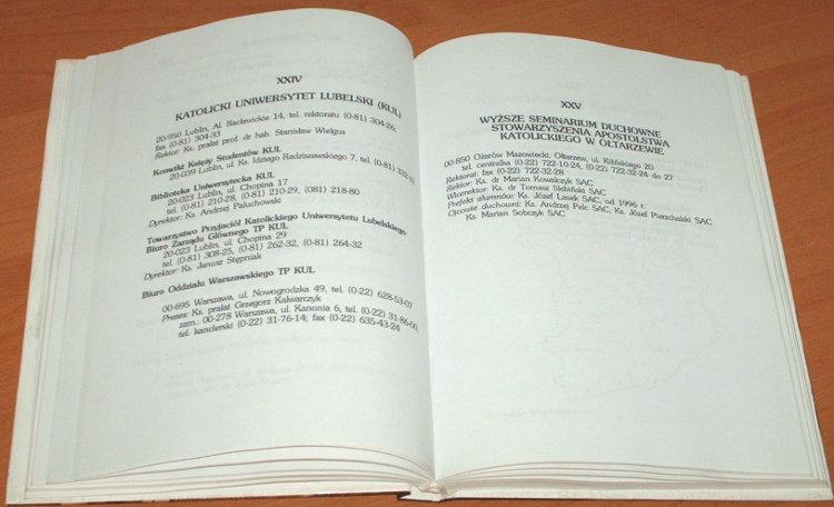 Kalwarczyk-Informator-Archidiecezji-Warszawskiej-1996-Civitas-Christiana-PAX-Archdiocese-of-Warsaw-Directories