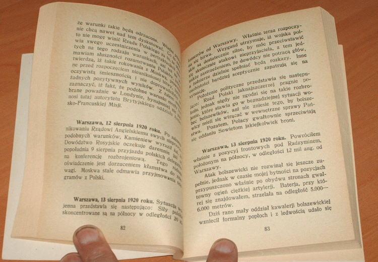 Osiemnasta-decydujaca-bitwa-w-dziejach-swiata-Pod-Warszawa-1920-Abernon-Harold-Press-1990-Pilsudski-Cud-nad-Wisla