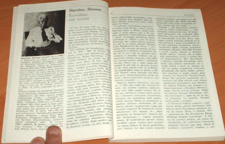 Lithuania-Kwartalnik-1-1990-Ogolnopolski-Klub-Milosnikow-Litwy-Stomma-Landsbergis-Litwa-Lamentowicz-Maciejkianiec