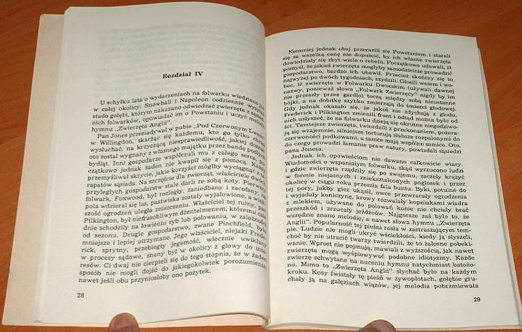 Orwell-George-Folwark-zwierzecy-Gdansk-Oficyna-Wydawnicza-Graf-1993-tlum-Zborski-Animal-Farm