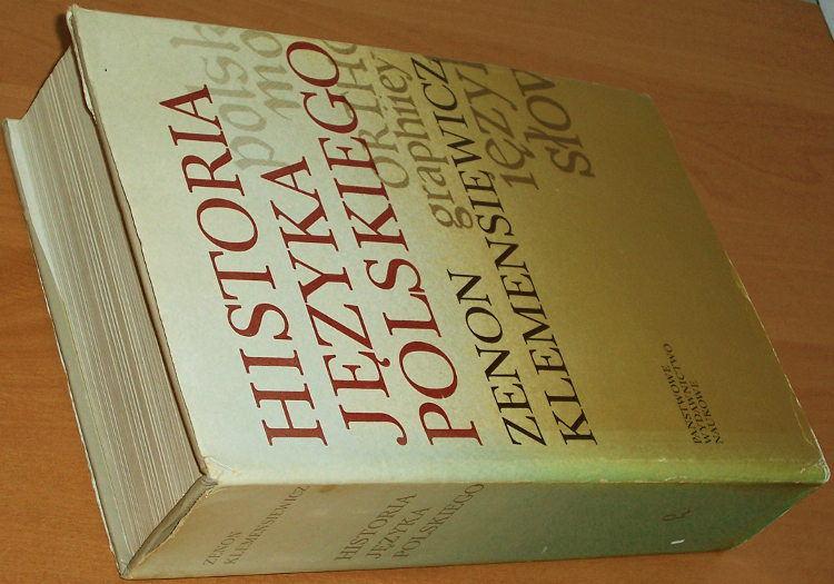 Klemensiewicz-Zenon-Historia-jezyka-polskiego-Wyd-5-PWN-1981-polish-language-history-Polonais-Polnische-Sprache-Polnisch