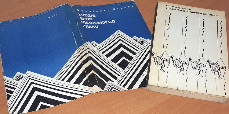 Stecki-Konstanty-Ludzie-spod-niebieskiego-znaku-Nasza-Ksiegarnia-1967-Tatry-GOPR-TOPR-gory-pogotowie-Mountaineering