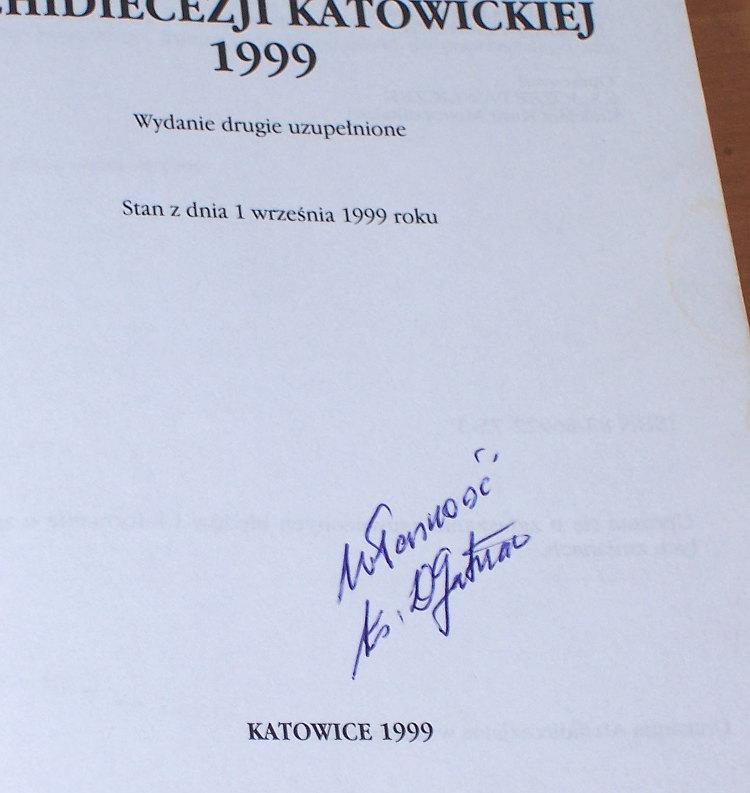 Pawliczek-Jozef-oprac-Parafie-i-kaplani-Archidiecezji-Katowickiej-1999-Katowice-ksiadz-parafia