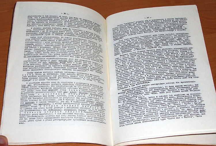Nowomowa-Warszawa-Wydawnictwo-Spoleczne-Kos-ON-1984-Zeszyty-Edukacji-Narodowej-Bralczyk-propaganda-Drawicz-Tischner