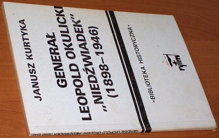 Kurtyka-Janusz-General-Leopold-Okulicki-Niedzwiadek-Warszawa-Rytm-1989-Armia-Krajowa-Biography-Moscow-Trial-1945
