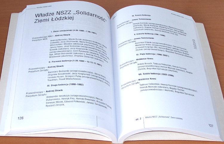 Kronika-Miasta-Lodzi-Kwartalnik-4-2005-Lodz-Solidarnosc-25-lat-NZS-Kropiwnicki-Olejnik-Prochniak-Agentura-Lesiakowski