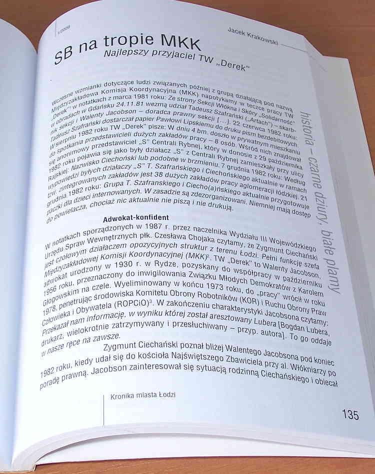 Kronika-Miasta-Lodzi-Kwartalnik-1-2009-20-lat-Lodz-Kropiwnicki-Wieczorek-Szapiro-Marzec-1968-Spodenkiewicz-TW-Derek