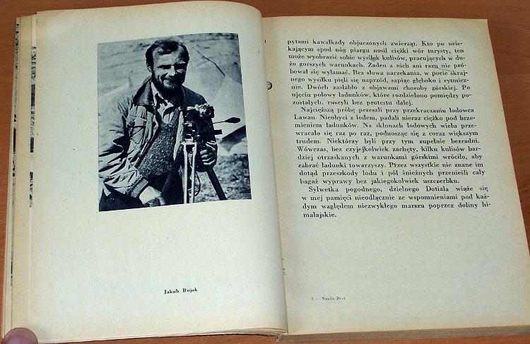 Klarner-Janusz-Nanda-Devi-Czytelnik-1956-1939-Karpinski-Foy-Bujak-Blake-Bernadzikiewicz-Himalaje-Himalaya-Climbing