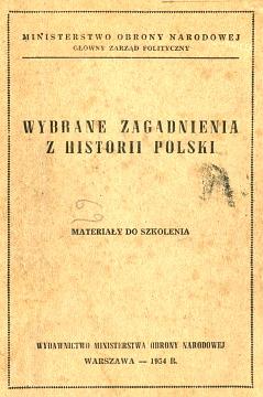 Zieniewicz Wybrane zagadnienia z historii Polski Materiały do szkolenia historia stalinizm Stalin komunizm waa0365