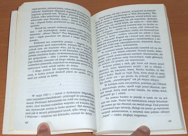 Siedlecka-Joanna-Czarny-ptasior-wyd-1-Gdansk-Warszawa-Marabut-Cis-1994-Jerzy-Kosinski-biografia-Josek-Lewinkopf