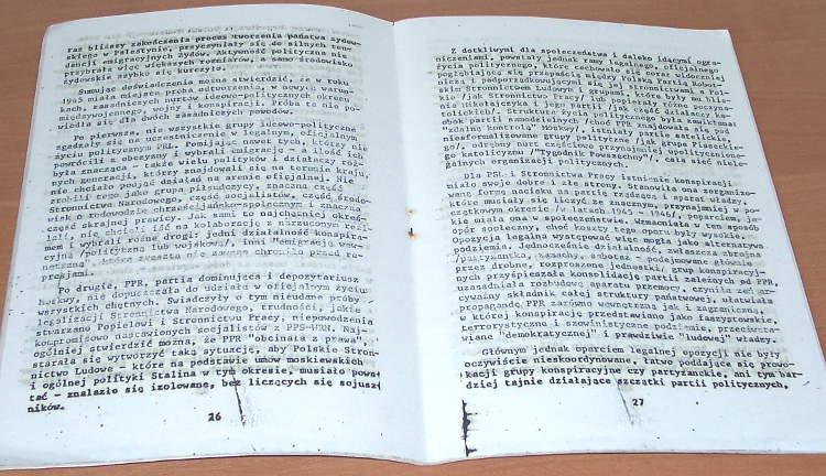 Perkal-Jakub-Andrzej-Paczkowski-Historia-polityczna-Polski-1944-1948-Warszawa-Wydawnictwo-Grup-Politycznych-TUR-1985