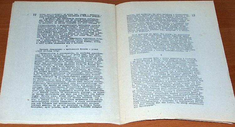 Michnik-Adam-Cienie-zapomnianych-przodkow-Lodz-Mowa-Miedzyzakladowa-Oficyna-Wydawnicza-listopad-1981-Pilsudski