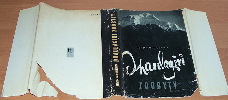 Hajdukiewicz-Jerzy-Dhaulagiri-zdobyty-Wiedza-Powszechna-1963-Himalaje-Himalaya-Diemberger-Eiselin-Mountaineering