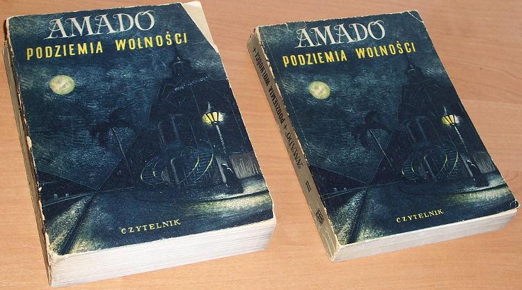Amado-Jorge-Podziemia-wolnosci-Tom-1-2-Warszawa-Czytelnik-1953-Brazylia-1937-1938-1939-1940-klasa-robotnicza