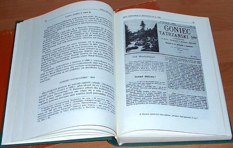 Rocznik-Podhalanski-Tom-III-Krakow-Wroclaw-Zakopane-Wyd-Literackie-Muzeum-Tatrzanskie-1985-Tatry-Podhale-gorale