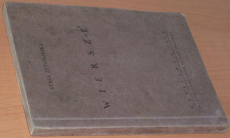 Zytomirska-Xenia-Ksenia-Wiersze-Warszawa-1933-poezja-poetry