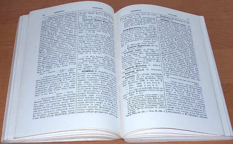 Estreicher-Karol-Bibliografia-polska-Vol-XX-Stolecie-XV-XVIII-Cz-III-T-IX-Litery-Ko-Ky-Og-zb-t-XX-New-York-Johnson-1965