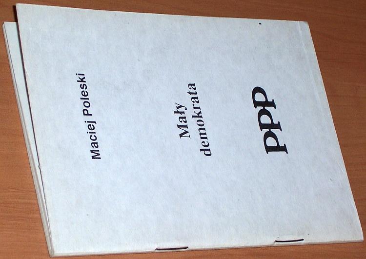 Poleski-Maciej-Bielecki-Czeslaw-Maly-demokrata-Warszawa-Porozumienie-Ponad-Podzialami-1990-demokracja-polityka-Democracy
