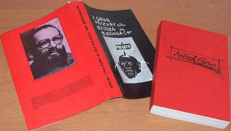 Grun-Andrzej-Fryzury-albo-Gejsza-na-biegunach-Lodz-Muzeum-Historii-Miasta-Lodzi-Galeria-Lodzka-1986-rysunki-rysunek