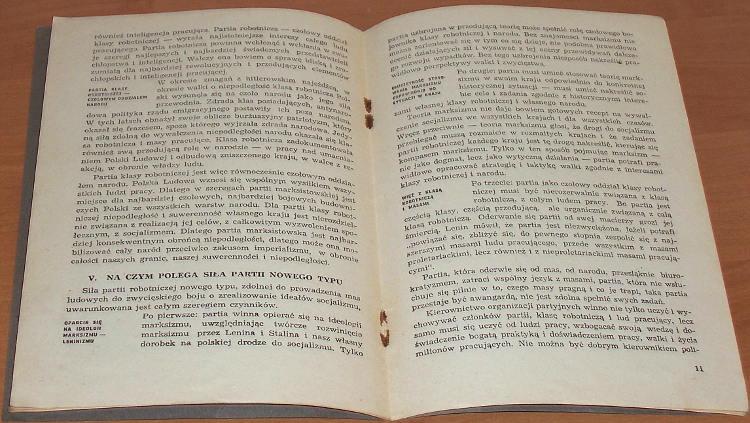 Partia-czolowy-oddzial-klasy-robotniczej-i-narodu-KC-PPR-i-CKW-PPS-1948-Biblioteka-Szkolenia-Partyjnego-nr-5