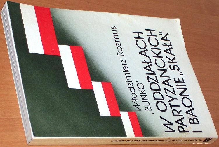 Rozmus-Wlodzimierz-W-oddzialach-partyzanckich-i-baonie-Skala-Krakow-KAW-Krajowa-Agencja-Wydawnicza-1987-Armia-Krajowa