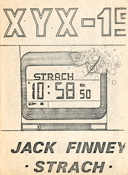 Finney Strach Zastawnik I'm scared XYX - 15 XYX-15 science fiction fantastyka waa0598