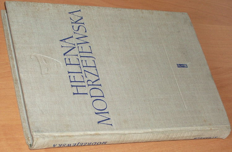 Got-Jerzy-Szczublewski-Jozef-Helena-Modrzejewska-Warszawa-Panstwowy-Instytut-Wydawniczy-PIW-1958-biografia-Modjeska