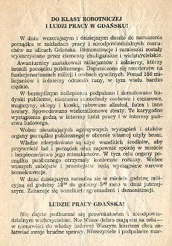Gdańsk Gdansk grudzień grudzień 1970 strajk stocznia ofiary tragedia waa0619