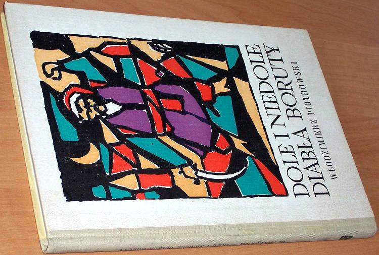 Piotrowski-Wlodzimierz-Dole-i-niedole-diabla-Boruty-Lodz-Wydawn-Lodzkie-1968-Leczyca-diabel-Boruta
