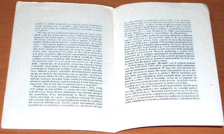 Pomian-Krzysztof-Robotnicy-i-sekretarze-Gdansk-Warszawa-Biblioteka-Robotnika-1979-W-dwadziescia-lat-pozniej-Aneks