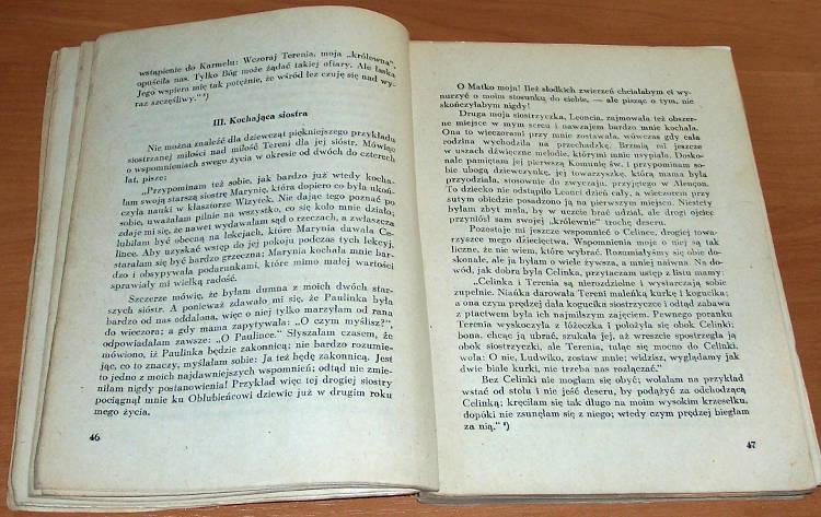 Bernard-od-Matki-Bozej-Jej-sladem-Sw-Teresa-od-Dzieciatka-Jezus-wzorem-Krakow-Wydawnictwo-OO-Karmelitow-Bosych-1948