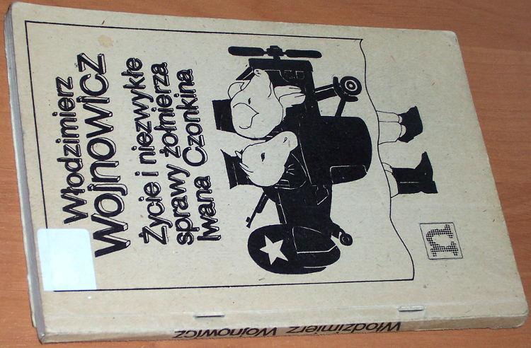 Wojnowicz-Wlodzimierz-Vojnovic-Vladimir-Zycie-i-niezwykle-sprawy-zolnierza-Iwana-Czonkina-Niezalezna-Oficyna-Wydawn-1984