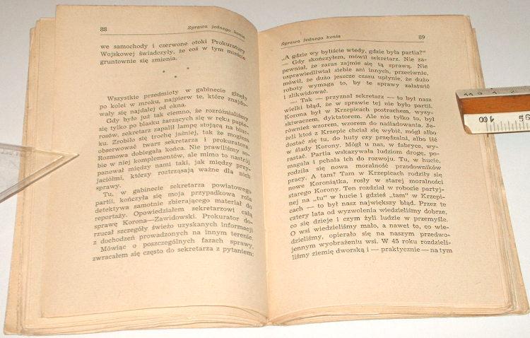 Kusmierek-Jozef-Uwaga-czlowiek-Czytelnik-1951-Bieda-Adachowej-Sprawa-jednego-konia-Pozar