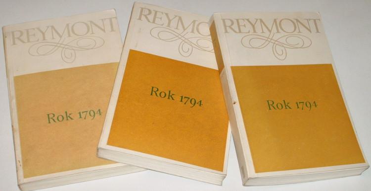 Reymont-Wladyslaw-Rok-1794-Ostatni-sejm-Rzeczypospolitej-Nil-desperandum-Insurekcja-PIW-1980-Pisma-Historia
