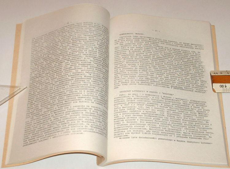 Danilewicz-Zielinska-Literatura-wolnego-slowa-1939-1986-KOS-Oswiata-Niezalezna-1987-Wydanie-podziemne-bibula