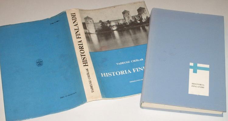 Cieslak-Tadeusz-Historia-Finlandii-Wroclaw-Ossolineum-1983-Finlandia-Suomi-Finland