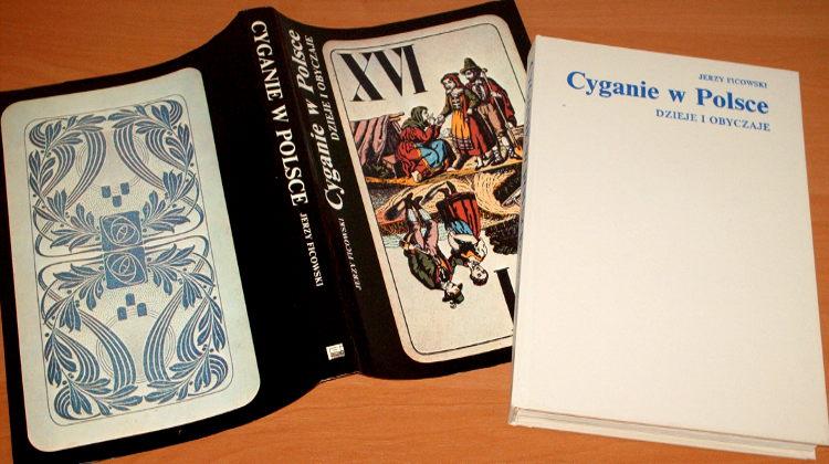 Ficowski-Cyganie-w-Polsce-Dzieje-i-obyczaje-Interpress-1989-monografia-sztuka-kultura-magia-polska