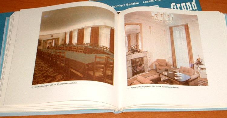 Badziak-Olejnik-Pelka-Grand-Hotel-w-Lodzi-1888-1988-Lodz-Lodzkie-Piotrkowska-8321807917