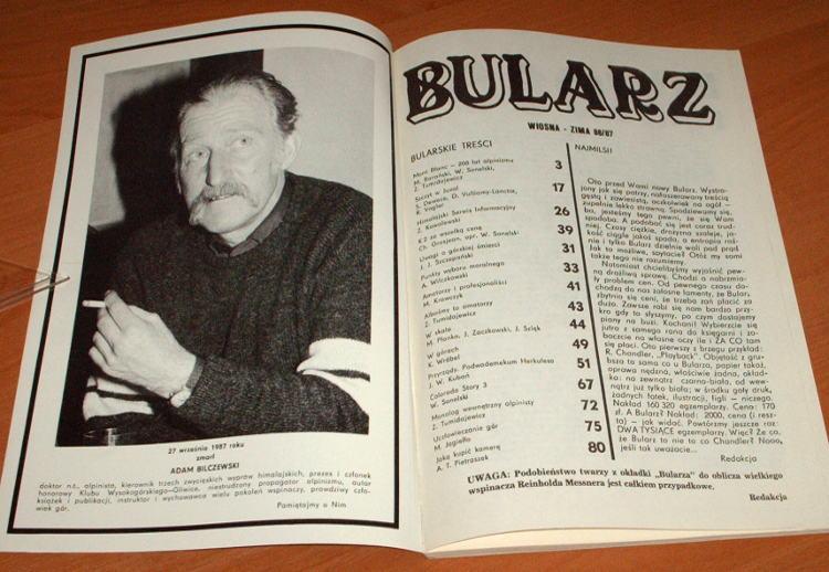 Bularz-1986-1987-Gliwice-Klub-Wysokogorski-mountain-taternictwo-wspinaczka-Tatry-gory