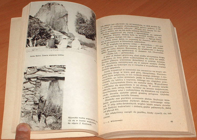 Wilczkowski-Kazdemu-wedlug-marzen-Lodz-Wydawnictwo-Lodzkie-1976-Polska-wyprawa-w-gory-Etiopii-1968-1969