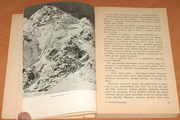 Dlugosz-Jan-Komin-Pokutnikow-Iskry-1964-Gory-Mountains-Tatry-Alpy-Alpinizm-Taternictwo-Wspinaczka-Mountaineering