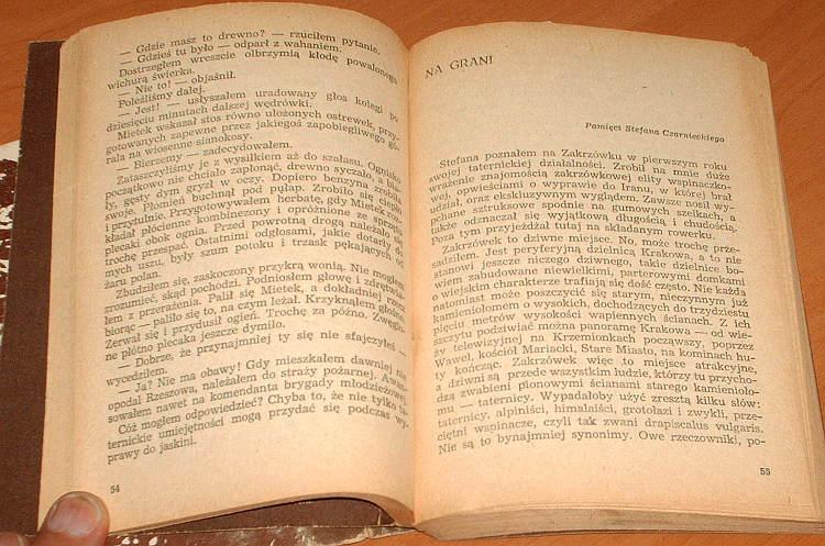 Opyrchal-Bojarski-Janusz-Spacerkiem-po-skale-Iskry-1981-opowiadania-Alpinizm-gory-Mountains-Climbing-Tatry