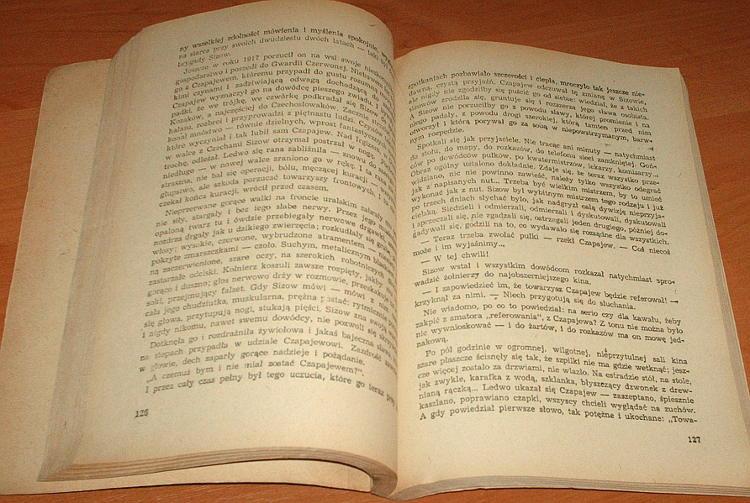 Furmanow-Furmanov-Czapajew-Chapaev-Tschapajew-tlum-Putrament-Wyd-siodme-MON-1955-Red-Army-soldiers-Frunze-Bolshevik