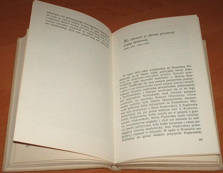 Jablonowski-Roman-Wspomnienia-1905-1928-PWN-1962-KKP-Komunistyczna-Partia-Polski-PPS-Polska-Partia-Socjalistyczna