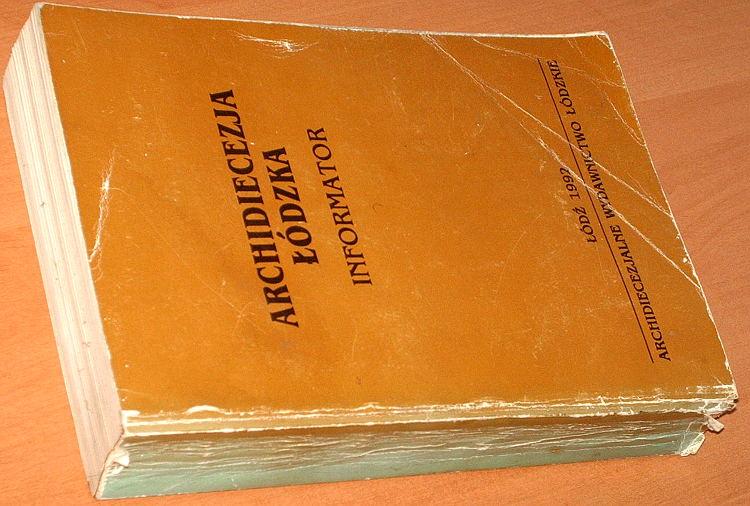 Archidiecezja-Lodzka-Informator-1992-Lodz-Archidiecezjalne-Wydawnictwo-Lodzkie-parafia-dekanat-biskup-ksiadz-kaplan