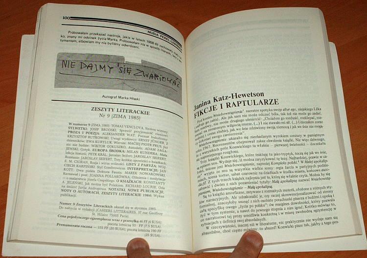 Puls-Nieregularny-kwartalnik-literacki-Nr-24-Londyn-luty-1985-Herbert-Anderman-Kaczmarski-Bartoszewski-Cywinski-Hlasko