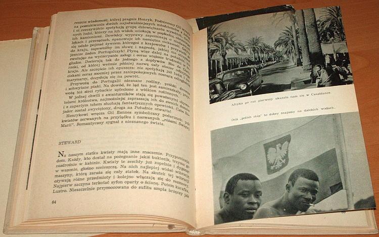 Szumanska-Ewa-Slady-na-oceanie-Czytelnik-1963-Miklaszewski-Bedac-mloda-lekarka-m-s-Bydgoszcz-Afryka-Zachodnia-Dakar
