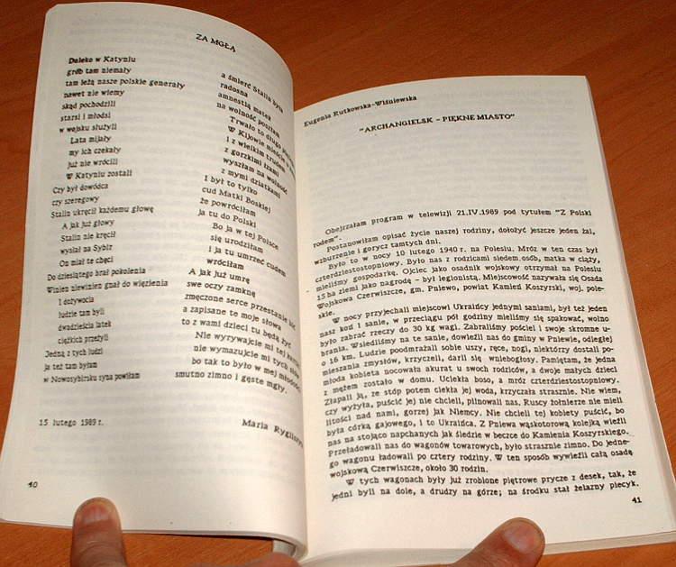 Wspomnienia-Sybirakow-tom-1-Polsza-budiet-kagda-woron-zbieliejet-Wyd-2-Pomost-1990-Syberia-zeslanie-Rosja-komunizm