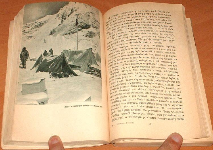 Hunt-John-Zdobycie-Mount-Everestu-Iskry-1956-Naokolo-Swiata-Szczepanski-Ascent-of-Everest-Himalaje-Czomolungma