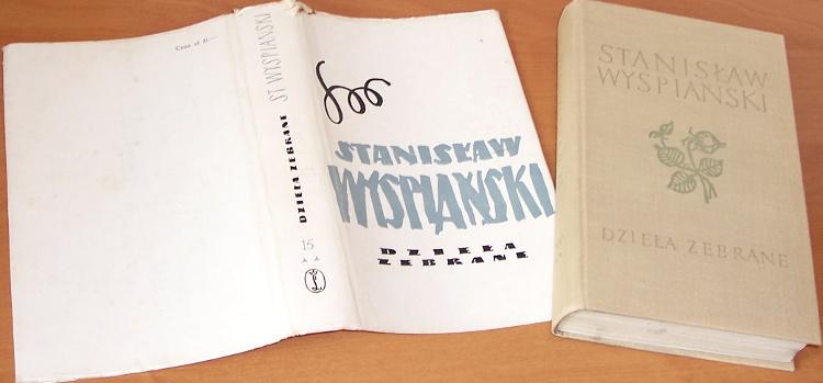 Wyspianski-Stanislaw-Dziela-zebrane-T-15-Monografia-bibliograficzna-2-O-tworczosci-pisarskiej-i-plast-Krakow-WL-1967